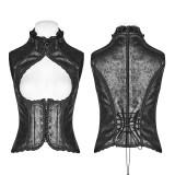 Steam Punk Vintage Floral Women's Vest