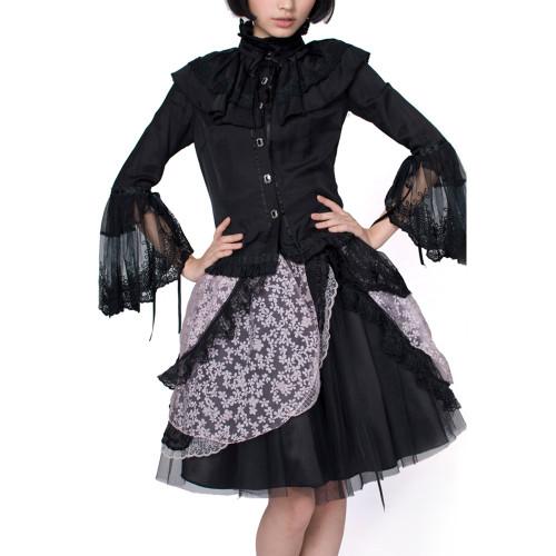 Lolita Women's Shirt Black/White