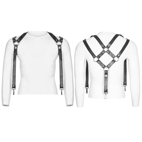 Punk Pants Men's Shoulder Strap accessories