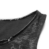 Punk Collar Cover Sleeveless Women's Vest