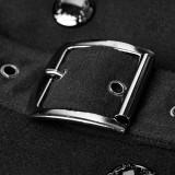 Punk Military Uniform Worsted Long Women's Coat