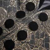 Gothic Medium Length Jacquard Men's Jacket