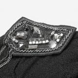Punk Slim Women's T-Shirt Black