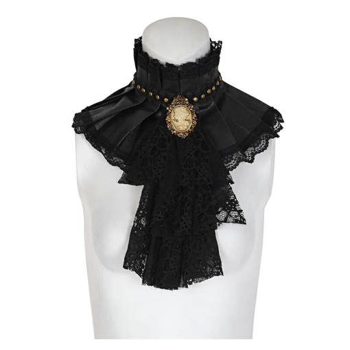Steam Punk Dual-use lace Necktie for women