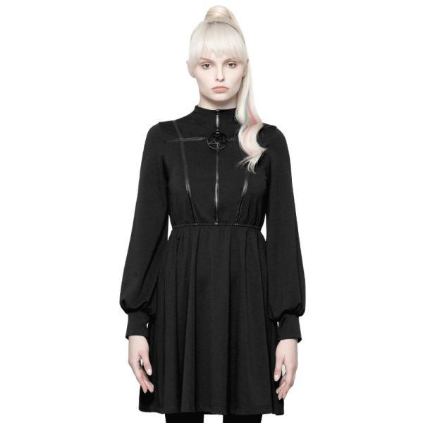 Gothic Diablo Series Girls High-collar Dress