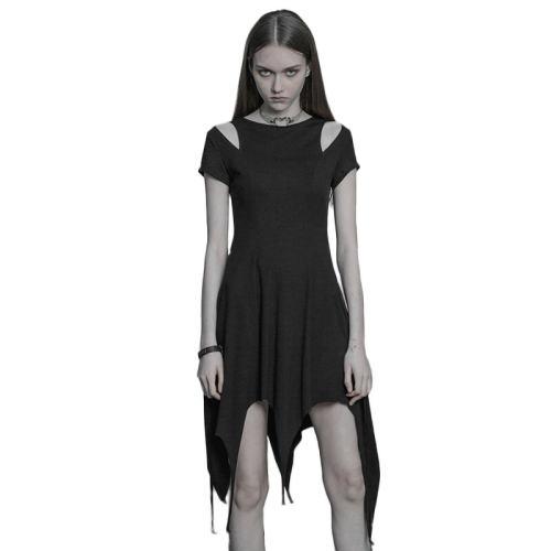 Punk comfortable Irregular Hem Women's Dress
