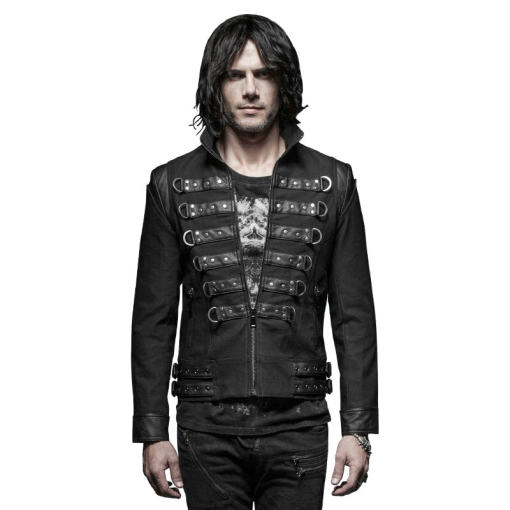 Punk handsome soldier men's  jackets