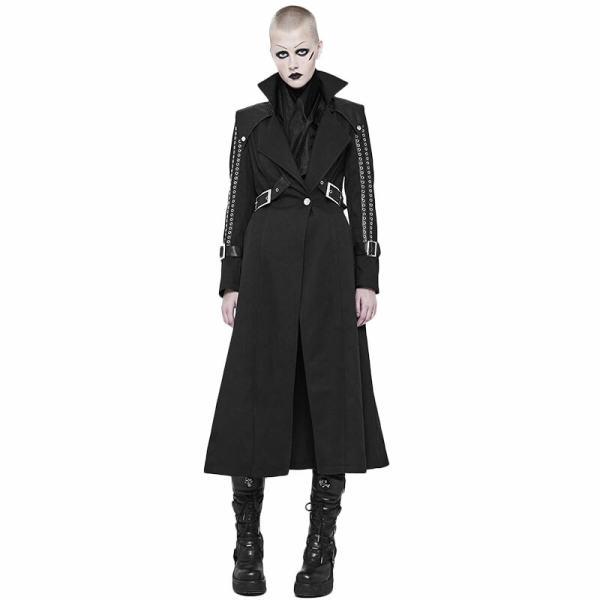 Punk Handsome  women's Long Coat