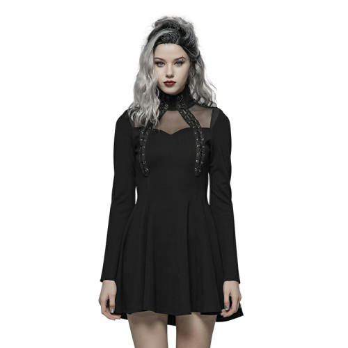 PUNK Long Sleeve Dress