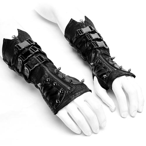 Punk Metal Women's Gloves