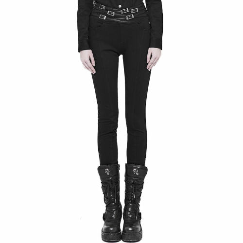 Punk Daily Life Long women's Pants