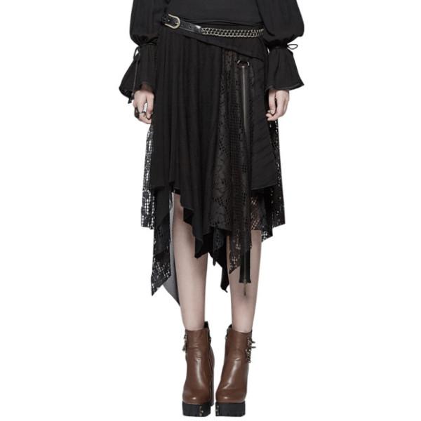 Steam Punk Half Women's lace Skirt