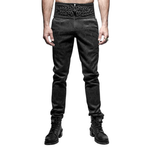 Daily Gothic peacock Botton Men's  pants