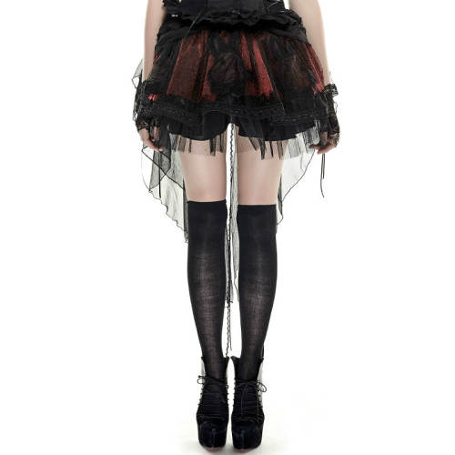 Lolita Bunny Mesh Two-Wear Short Skirt
