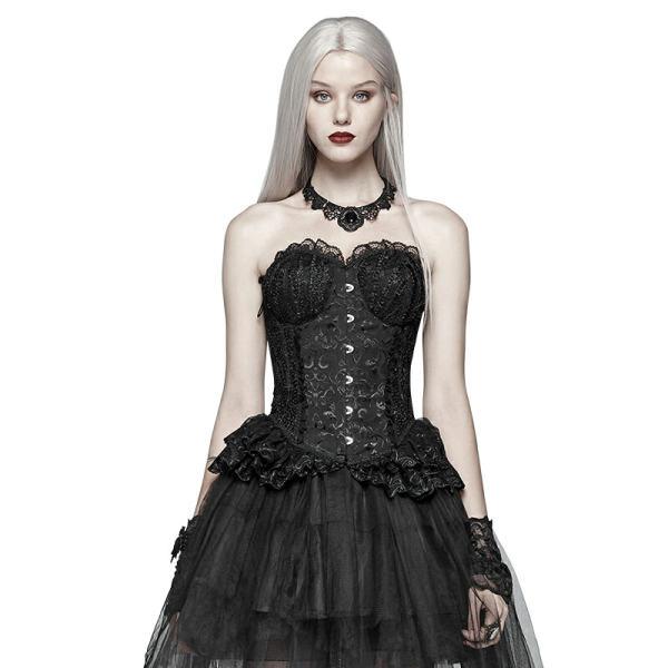 Pyon Pyon_Lolita Black Elf Women's Corset Black