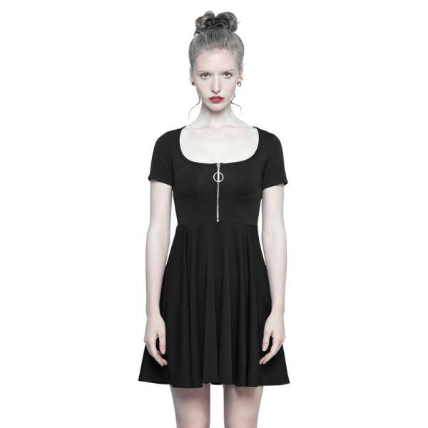 Punk Astrologers Series Micro-halter  Women's Dress Black