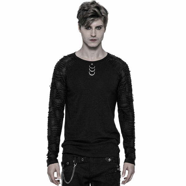 Punk Men's Long Sleeve T-shirt