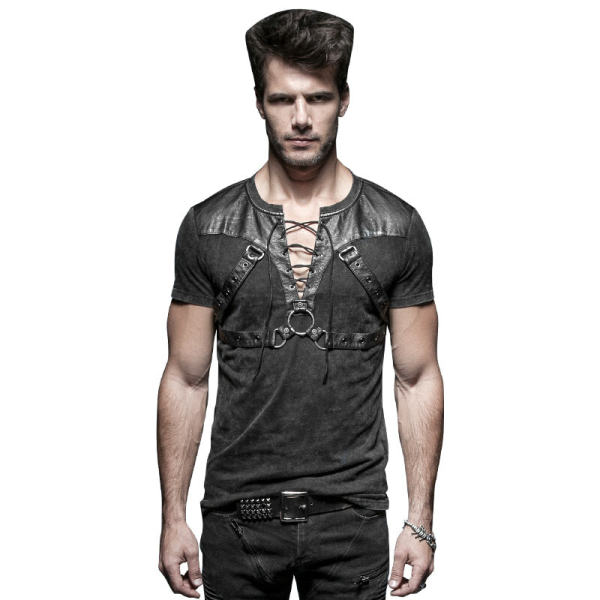 Punk Soilder short Men's T-shirts