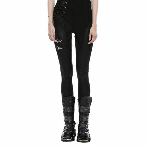 Punk Women's Black Leggings