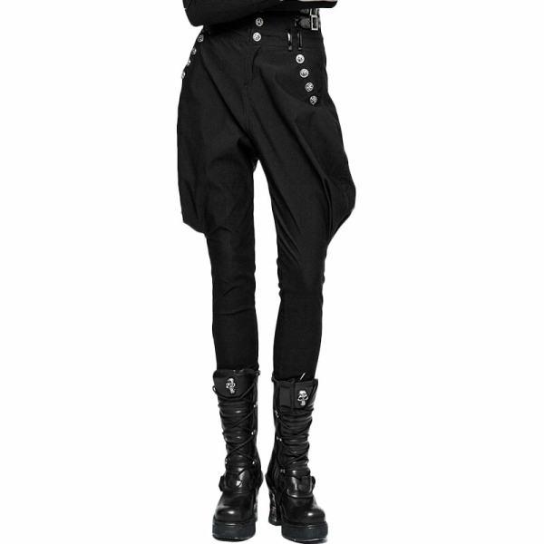Punk women's Military Uniform High Waist Riding Breeches