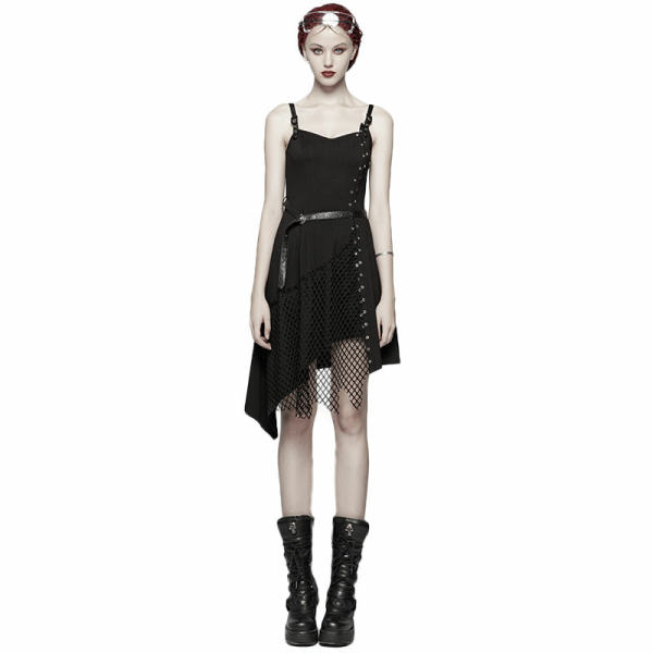 Daily Punk Mesh women's Dress