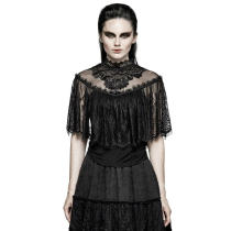 Gothic Lace Shrug Shawl Women's T-shirts