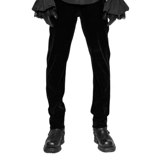Gothic Daily Weft velveteen Men's Trousers