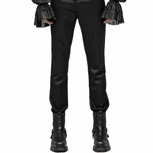 Gothic Simple men's Trousers black