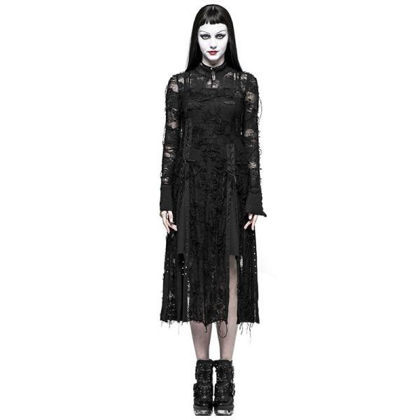Gothic Retro Lace women's Rope Dress