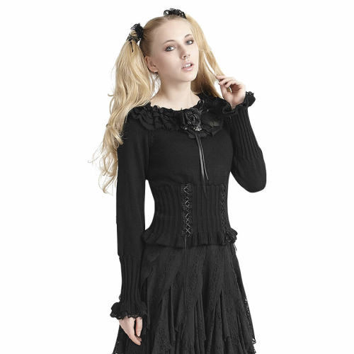 Lolita Black Women's Sweater