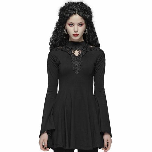 Gothic Hollow-out A hem Pendulum Dress