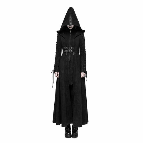 Gothic Dark Angel Women's Long Jacket