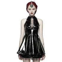 Punk Midnight Seduction Sleeveless Mini skirt