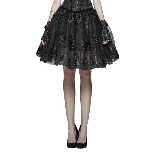 Gorgeous Lolita Beautiful Half Women's Skirt