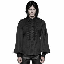 Punk Uniform Retro long-sleeved Men's Shirt