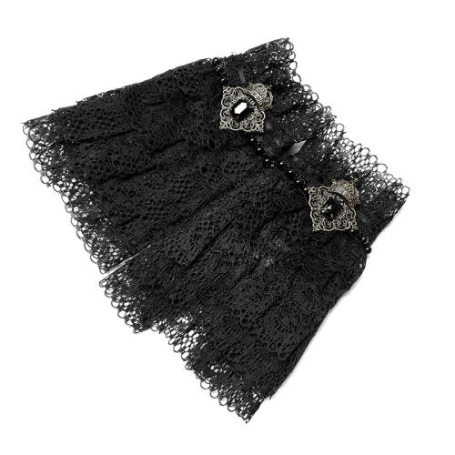 Gothic Lace Women's Glove Black