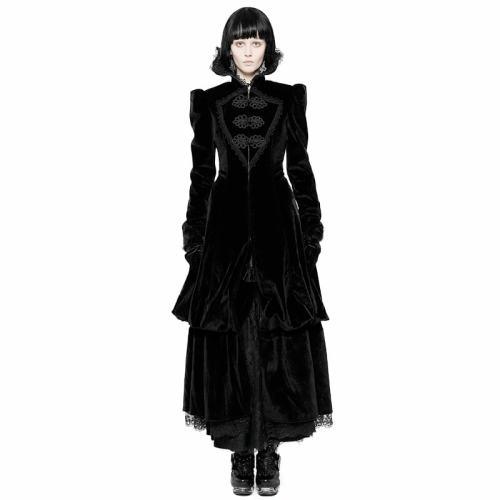 Gothic Gorgeous Court Retro Medium-length Women's Coat