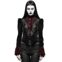 Gothic Scissor-tail Dress Women's Jacket