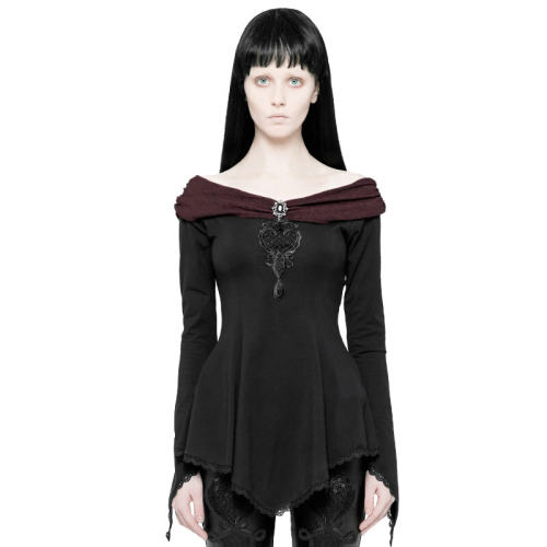 Gothic Gorgeous Long Sleeve women's T-shirt