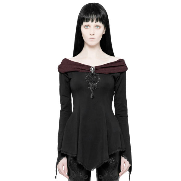 Gothic Gorgeous Long Sleeve women's T-shirt