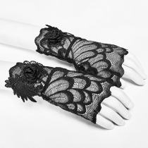 Gothic Lace Glove Women's
