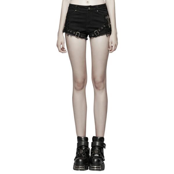 Steampunk Mesh Women's ultra-shorts