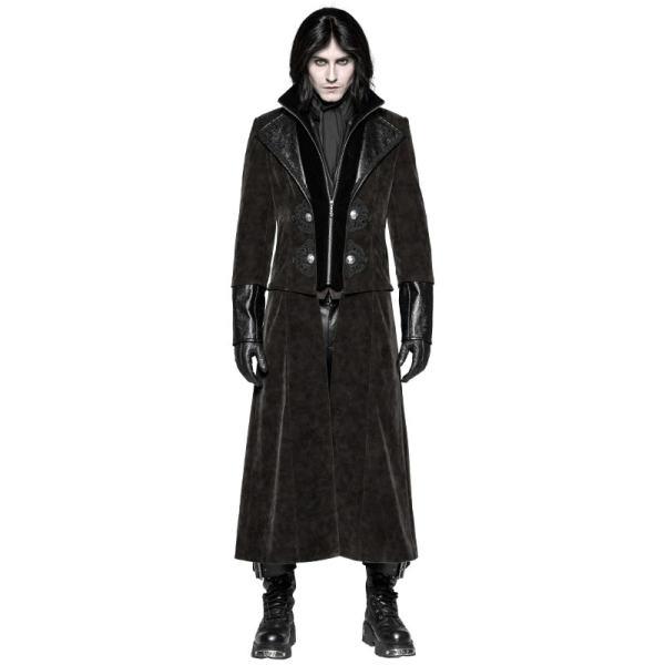 Punk Detachable Gentleman Style Men's Jacket
