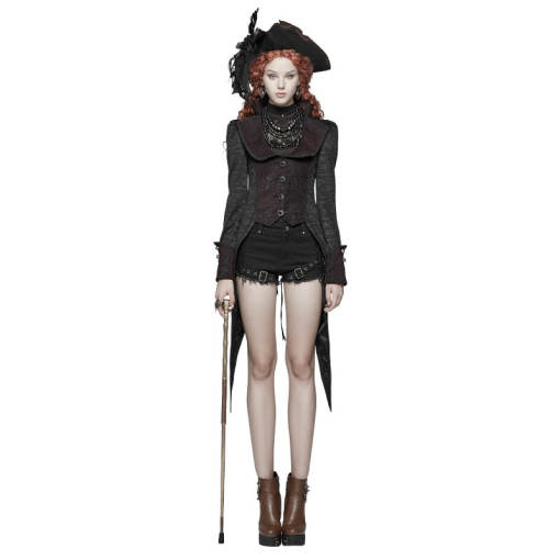 Gothic Dress Swallow Tail Women's Coat