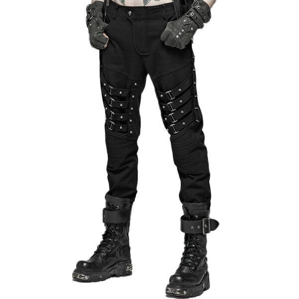 Punk Heavy Metal Men's Trousers