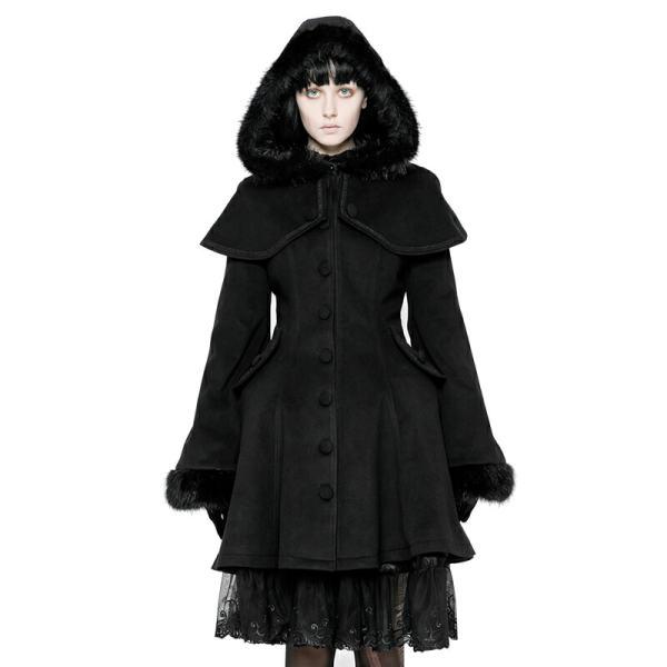 Lolita Medium-length Swallow Tail Dress Coat