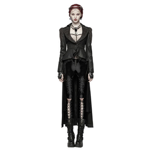 Gothic Dark Women's Lace Coat