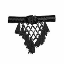 Gothic Tassel women's Necklace