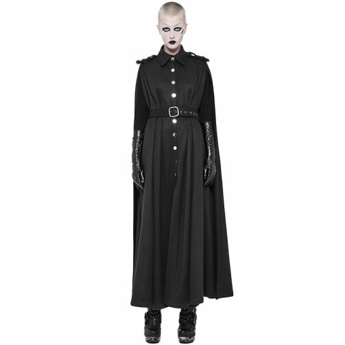 Two Wear Long Military Uniform women's Cloaks