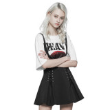 Punk Corn Bandage Overalls Women's skirt